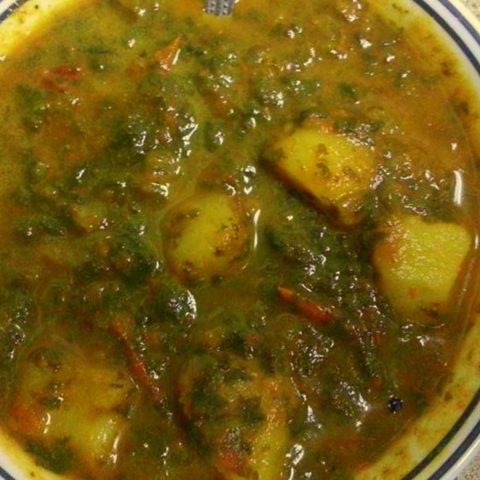 How to make Aloo Palak