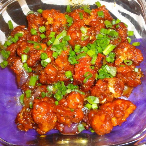 Photo of Dry Gobhi Manchurian by Aayushi Manish at BetterButter