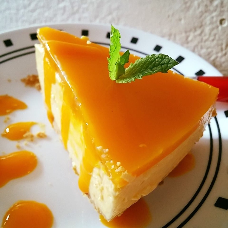 How to make No Bake Mango Cheesecake