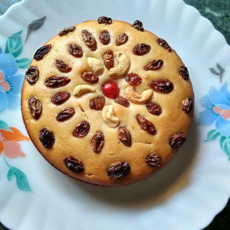 Photo of venilla cake by রুনু চক্রবর্তী chakraborty at BetterButter