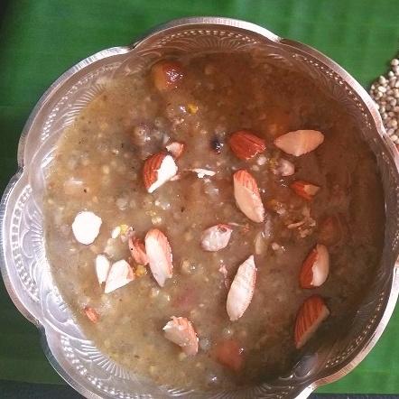 How to make Pearl Millet- Green gram Payasam
