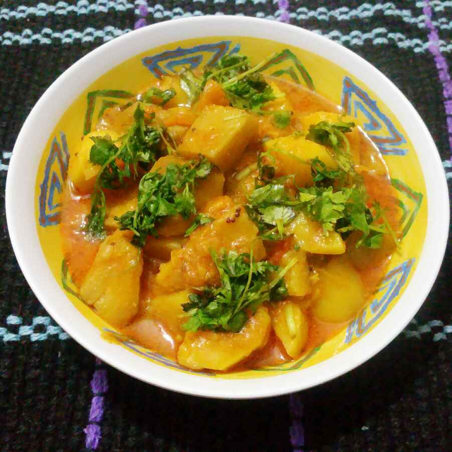 Photo of TrI(Y) Veg Curry by Abhinetri V at BetterButter