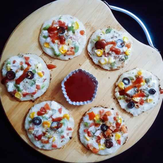 How to make Poha oats pan pizza(kids special)