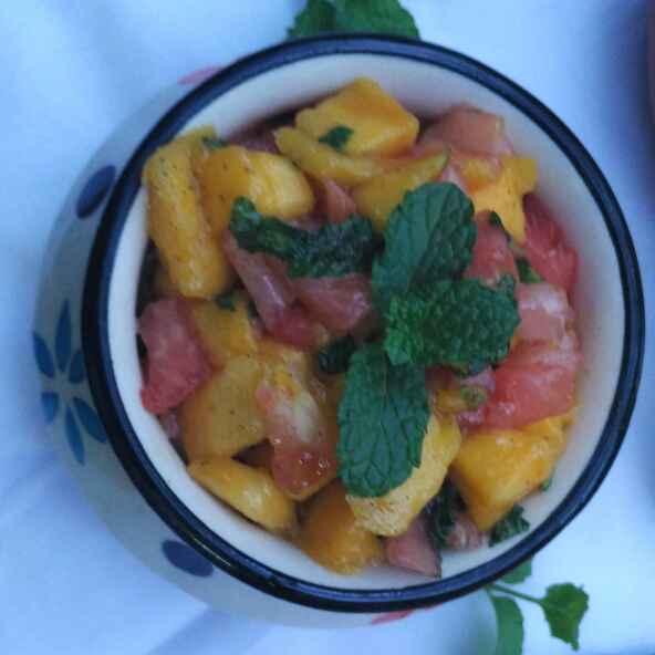 Photo of Mango and Watermelon Salad by Abhipsa Saran at BetterButter
