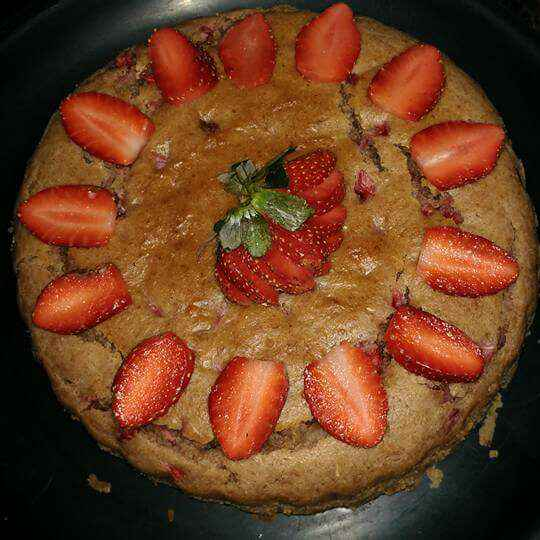 How to make Fresh strawberry cake
