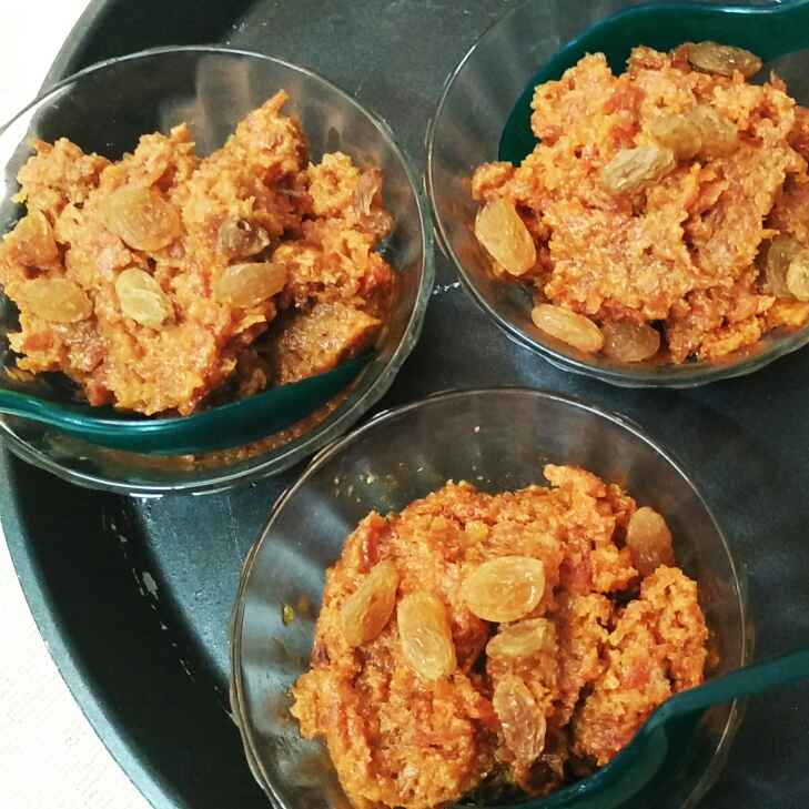 Photo of Jaggery Carrot Halwa by Abhipsa Saran at BetterButter