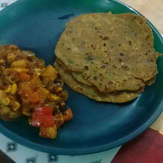 Photo of Spring Onion Paratha by Abhipsa Saran at BetterButter