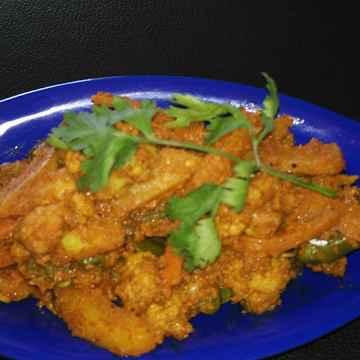 How to make Veg Kolhapuri