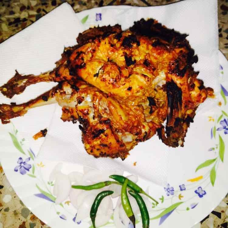 How to make whole chicken tandoori