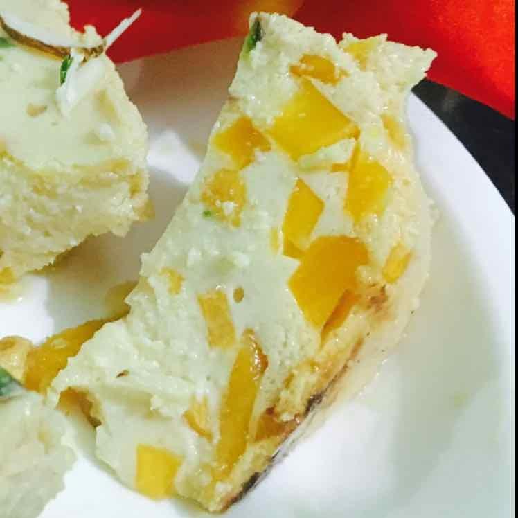 Photo of Bhapa Dohi with mango by Abhipsa Sahoo at BetterButter