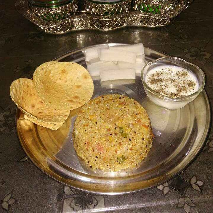 How to make Daliya/broken wheat pulav