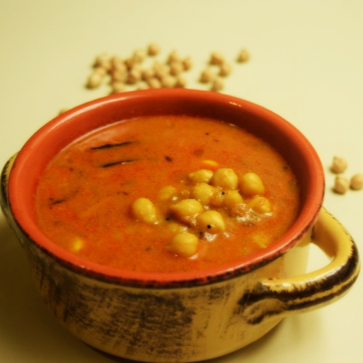 How to make Chickpea Coconut Curry