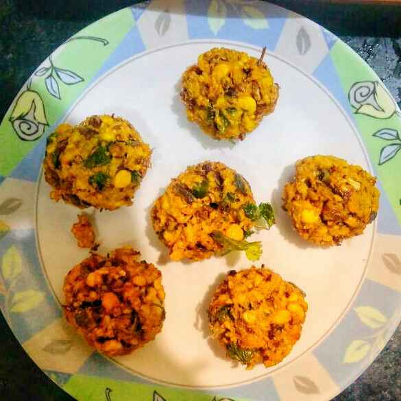 How to make Banana flower vada /fitters