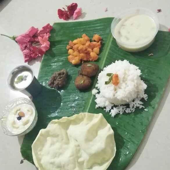 Photo of Amma special thali by Abinaya bala at BetterButter