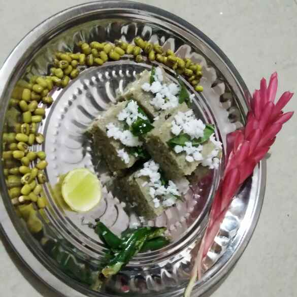 Photo of Moong dal dhokla by Abinaya bala at BetterButter