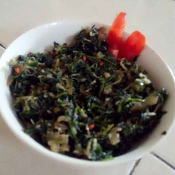 How to make Spinach semi fry