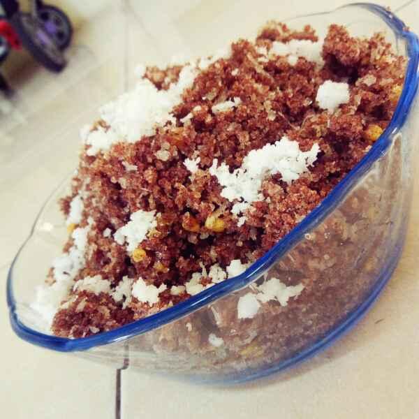How to make Raagi puttu in cooker easy method