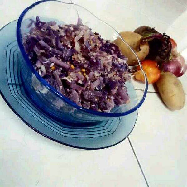 How to make Blue kraut stir fry