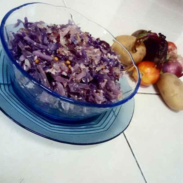 Photo of Blue kraut stir fry by Adaikkammai annamalai at BetterButter