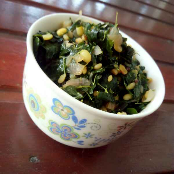 How to make Drumstick leaves dal stir fry