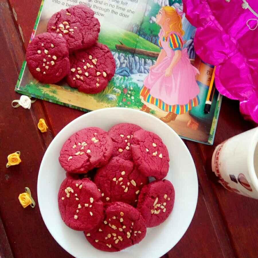 Photo of Red velvet cookies by Adaikkammai annamalai at BetterButter
