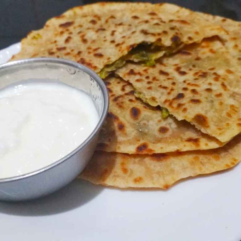 Photo of Capsicum Cheese Paratha by Adarsha M at BetterButter