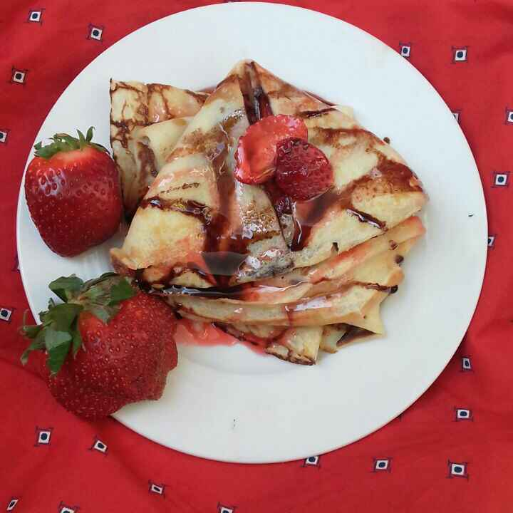 Photo of Strawberry Crepes by adeeba Lari at BetterButter