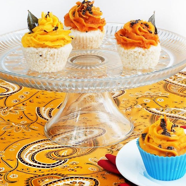 How to make Idli Cupcakes