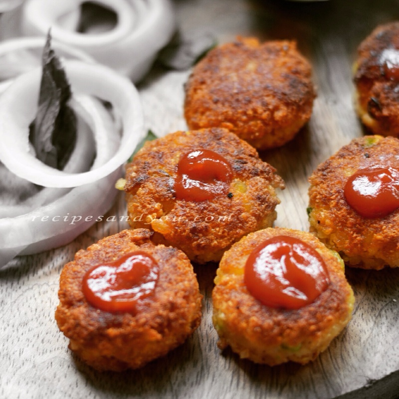 Photo of Nutrela Brokenwheat Fritters by Aditi Bahl at BetterButter