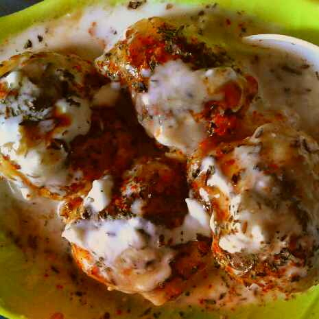 Photo of Chatpate dahi bhalle by sanjana agarwal at BetterButter