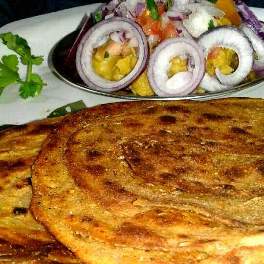 Photo of Stuffed masala lachha parantha by sanjana agarwal at BetterButter