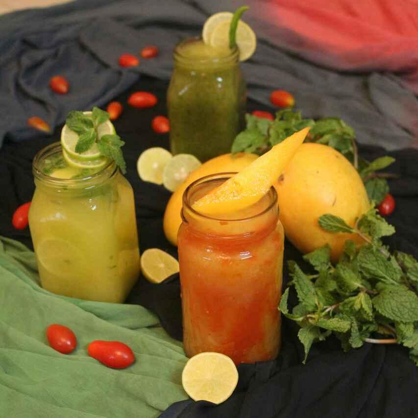 Photo of Honey Mango Lemonade by Adwiti Mukhopadhyay Ray at BetterButter