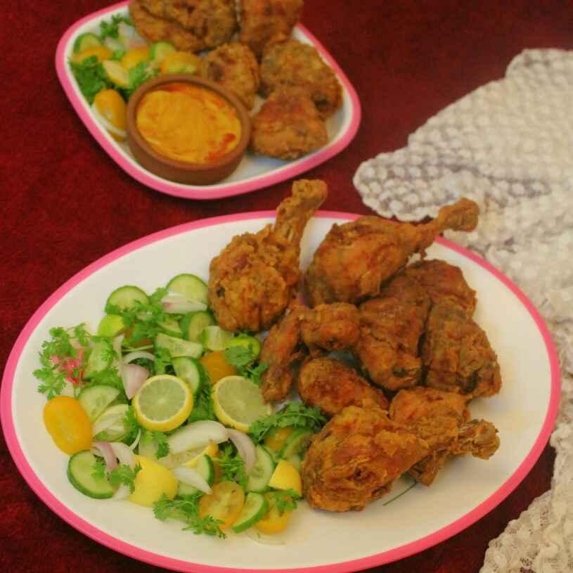 Photo of Fried Chicken Kebab by Adwiti Mukhopadhyay Ray at BetterButter