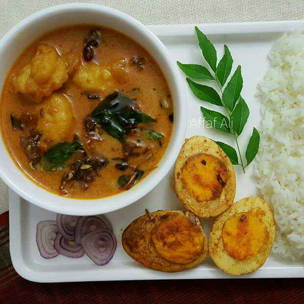 How to make Prawns in Coconut curry (Kerala Style)