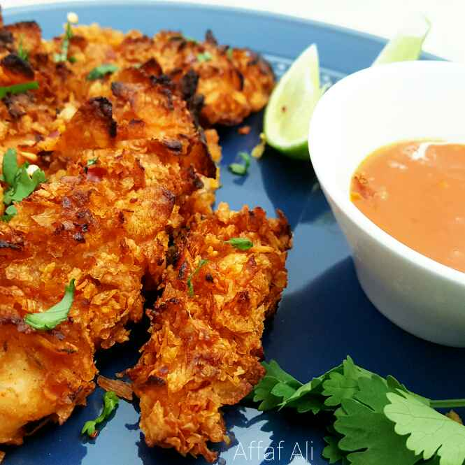 Photo of Nando's – Baked Peri-Peri Cornflakes Chicken by Affaf Ali at BetterButter