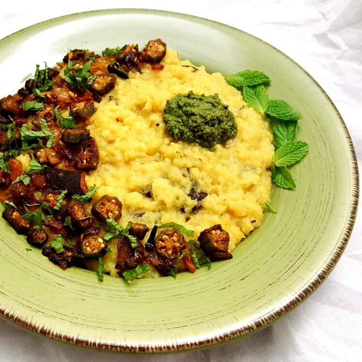 How to make Geda – Moong Dal & Rice Khichadi