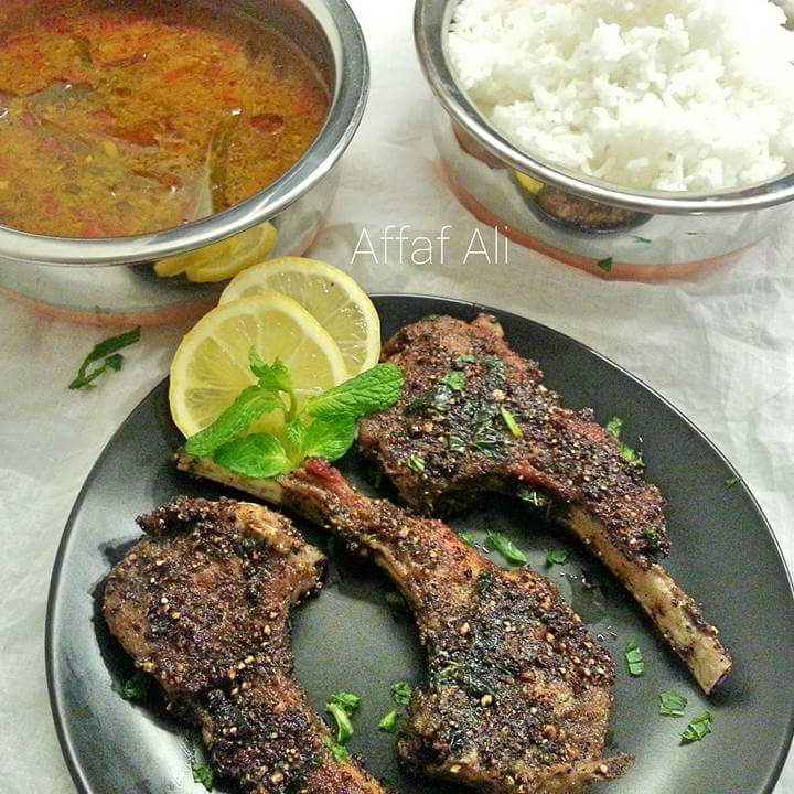 How to make Roasted Lamb Chops