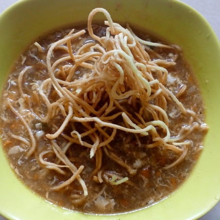 Photo of Chicken Manchow Soup with Fried Noodles by Afreen Imran at BetterButter