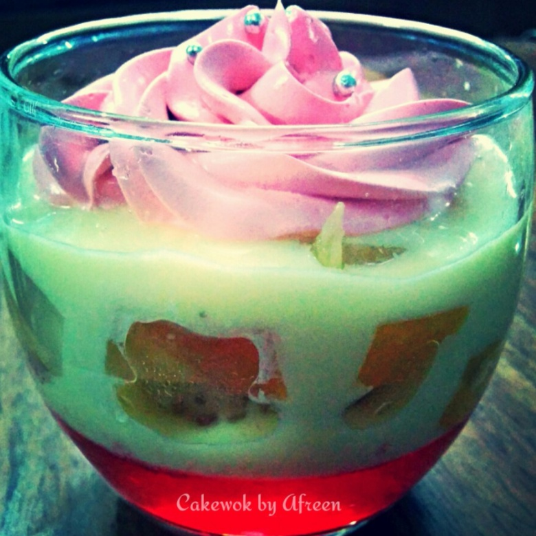 Photo of Fruit Trifle in a Glass by Afreen Usman at BetterButter