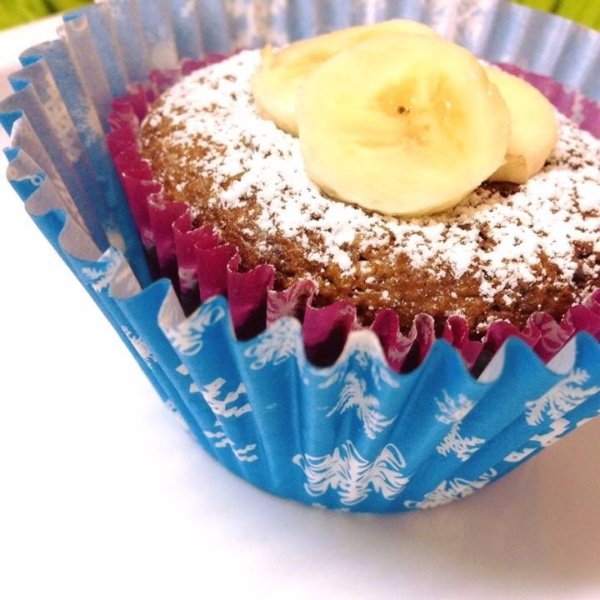 How to make Banana and Oats Cupcakes
