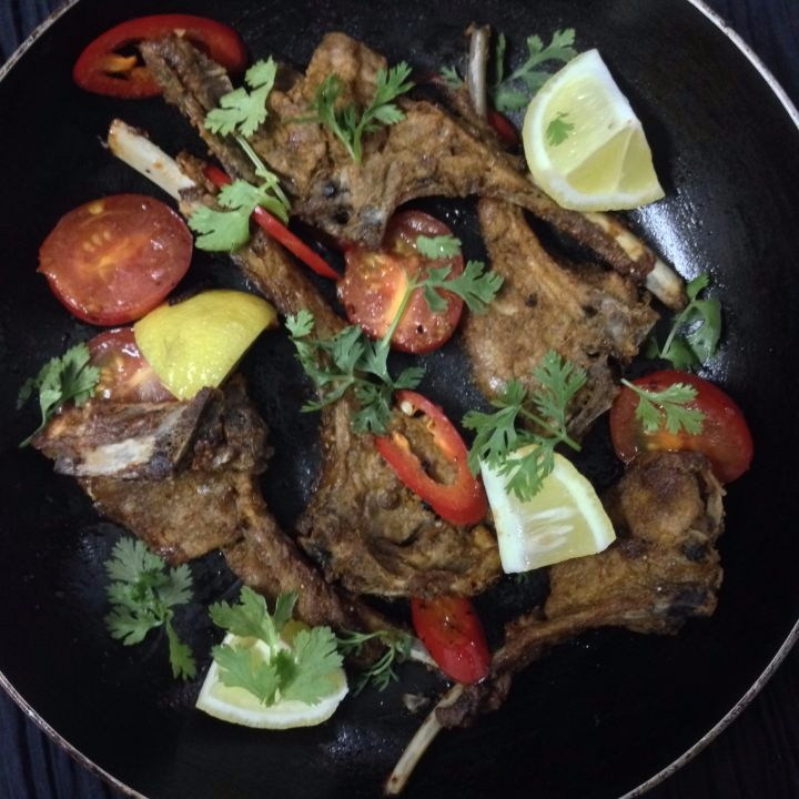 How to make Spicy Mutton Chops