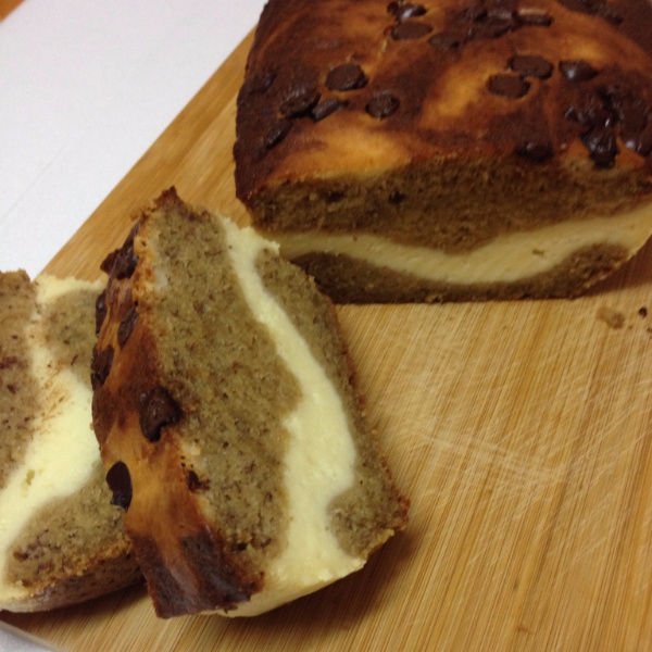 How to make Banana Bread with Cheesecake filling