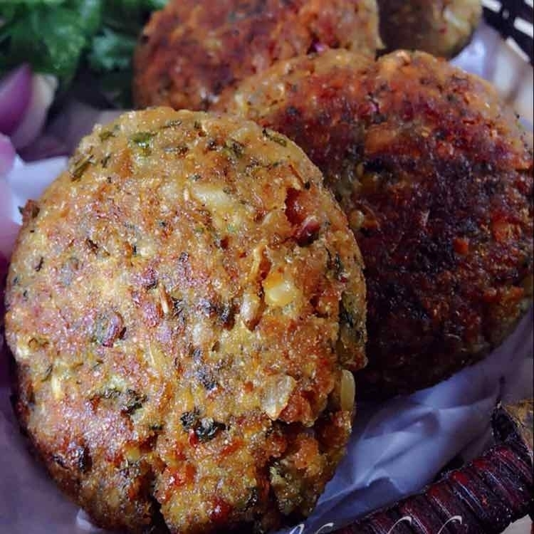Photo of Soya mince and sprouted moong cutlet by Afroz Shaikh at BetterButter