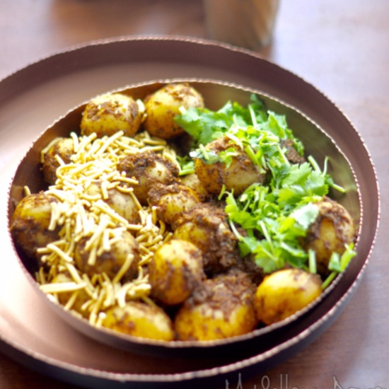 How to make Masala Baby Potatoes
