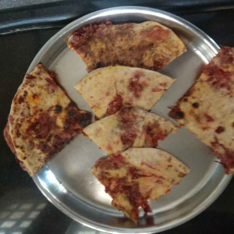 Photo of Beetroot paratha by Aishwarya cooking kitchen at BetterButter