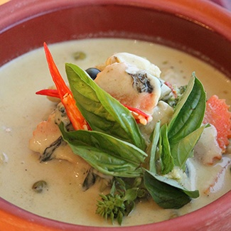 Photo of Thai Veg Green Curry by Chef Ajay Chopra at BetterButter