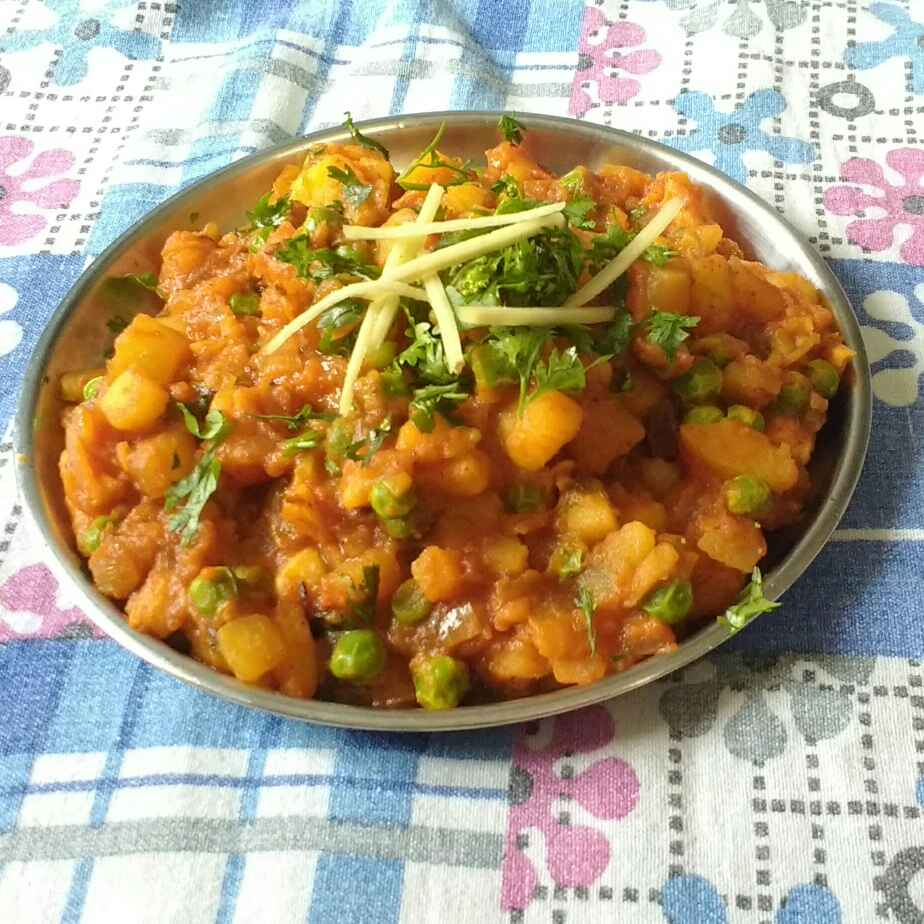 Photo of Aloo matar by Ajinkya Shende at BetterButter