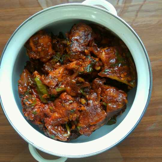 Photo of chicken manchurian by akshara tambiraj at BetterButter