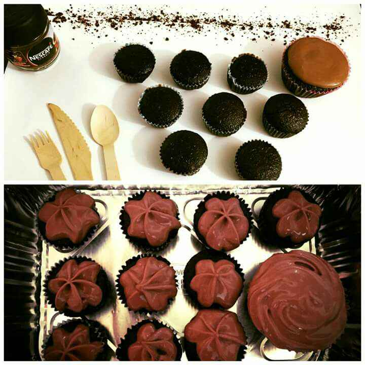 How to make Choco cup cakes