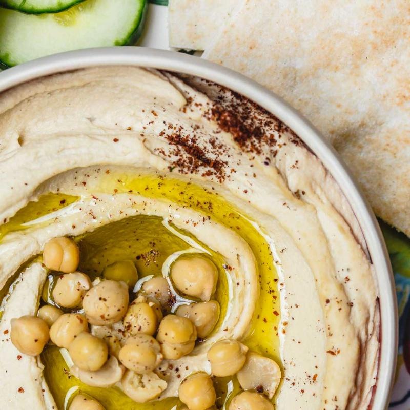 How to make 5-Minute Hummus